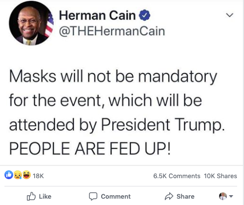 Cain mocked by Democrats