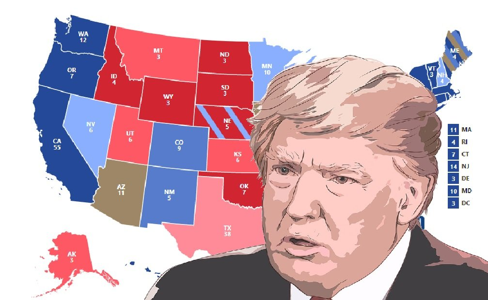 Trump gains in 9 swing states