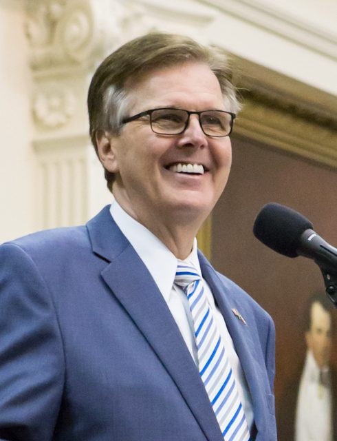 DAN PATRICK OFFERS AWARD FOR VOTER FRAUD INFO
