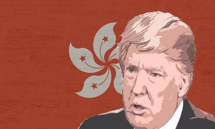 HONG KONG DEMOCRACY ADVOCATES BACK TRUMP