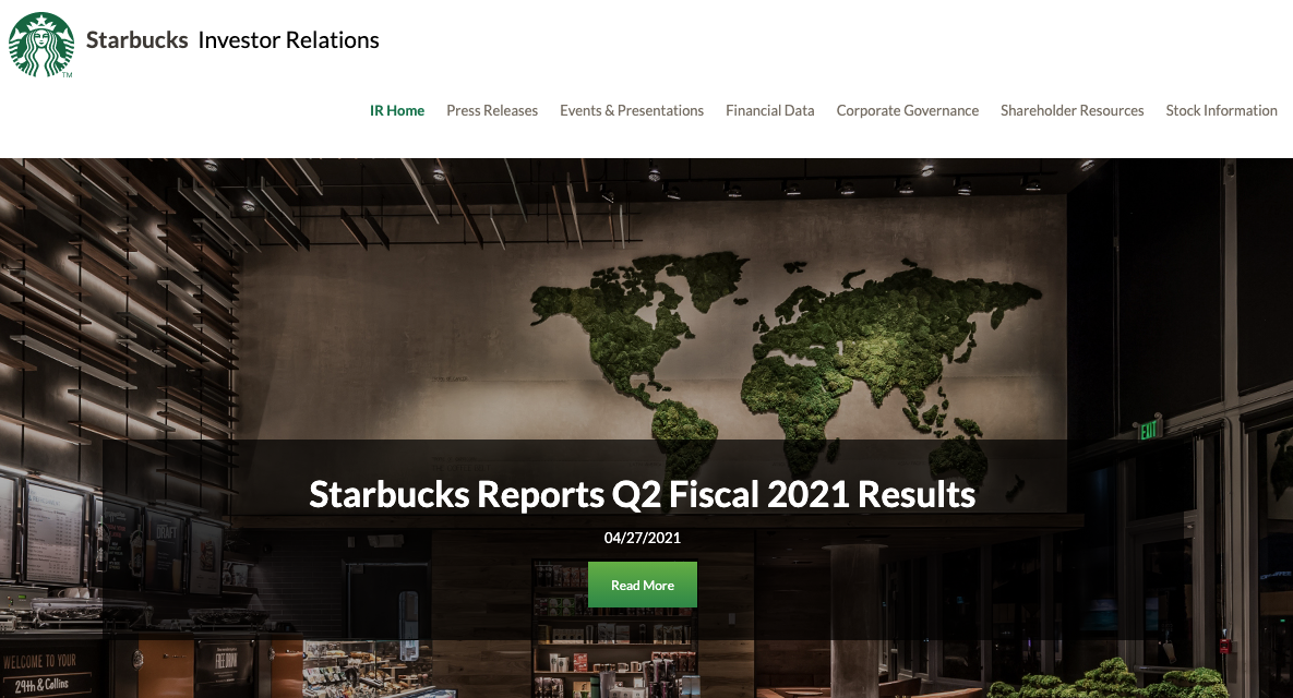 STARBUCKS PICKS UP ITS BALL AND GOES HOME